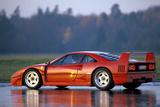Ferrari F40 Fotografie-Druck von Hans Dieter Seufert
