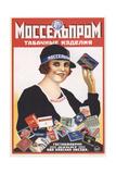 Mosselprom. Tobacco Goods Giclee Print by Mikhail Alexeyevich Bulanov