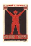 "Read the ""Molodaya Gvardiya""(""Young Guard"") Magazine Impressão giclée por Alexander Mikhailovich Rodchenko"