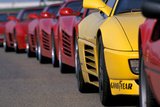 Ferrari Fotografie-Druck von Uli Jooss