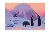 And We Do Not Fear (From Sancta Series) Giclée-tryk af Nicholas Roerich
