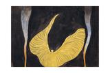 """Loïe Fuller in the Dance """"The Archangel"""" Reproduction procédé giclée par Koloman Moser"""