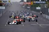 Ayrton Senna Fotografie-Druck von Daniel Reinhard