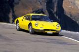 Ferrari 246 GT Dino Fotografie-Druck von Hans Dieter Seufert