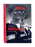 Poster for the Russian Exhibition in Zurich Giclée-Druck von El Lissitzky
