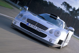 Mercedes CLK GTR Photographic Print by Achim Hartmann