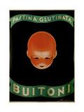 Pastina Glutinata Buitoni Giclée-tryk af Federico Seneca