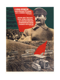 By the End of a Five-Years Plan Collectivization Should Be Finished Giclee Print by Gustav Klutsis