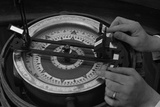 Navigation Instrument and Compass Photographic Print by Hanns Tschira