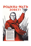 Motherland Calls! Giclee Print by Irakli Moiseevich Toidze