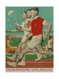Soviet Sportsmen are the Pride of Our Country Giclee Print by Viktor Borisovich Koretsky