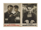 No Place for Unemployment in Socialism! Giclee Print by Viktor Borisovich Koretsky