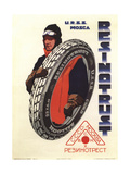The Rubber Trust. USSR. Moscow Giclée-Druck