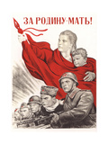 For Motherland! Giclee Print by Irakli Moiseevich Toidze