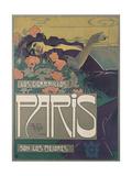 Los Cigarillos Paris Giclee Print by Aleardo Villa