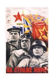 Guard over Peace! Giclee Print by Viktor Borisovich Koretsky