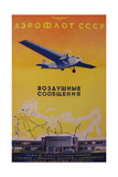 Aeroflot Giclee Print