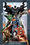 Justice League- All-Star Heroes Kunstdrucke
