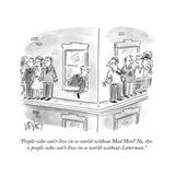 Cartoon Premium Giclee-trykk av Christopher Weyant