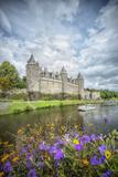 Josselin castle in Brittany Reproduction photographique par Philippe Manguin
