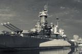 North Carolina, Wilmington, Battleship Uss North Carolina Fotoprint van Walter Bibikow