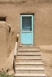 New Mexico. Taos Pueblo, Architecture Style from Pre Hispanic Americas Fotografie-Druck von Luc Novovitch