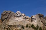 South Dakota, Keystone, Mount Rushmore National Memorial Photographic Print by Peter Hawkins