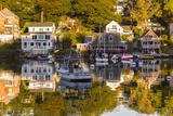 Massachusetts, Gloucester, Annisquam, Lobster Cove, Autumn Photographic Print by Walter Bibikow