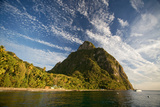 Gros Piton, St. Lucia, West Indies Reproduction photographique par Susan Degginger