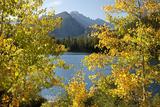 Colorado, Rocky Mountain National Park. Autumn Along Bear Lake and Longs Peak Fotoprint van Jaynes Gallery