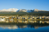 Argentina. Tierra Del Fuego. Ushuaia. Sunrise over the Town Photographic Print by Inger Hogstrom