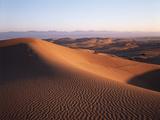 California, Imperial Sand Dunes, Tracks across Glamis Sand Dunes Fotografie-Druck von Christopher Talbot Frank