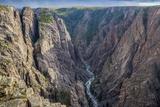 Colorado, Gunnison National Park. Scenic in Black Canyon Fotoprint van Jaynes Gallery