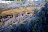 Cliff Palace Ancestral Puebloan Ruins at Mesa Verde National Park, Colorado Reproduction photographique par Richard Wright