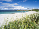 Beach Landscape in the Northern Part of the Isle of Lewis, Scotland Stampa fotografica di Martin Zwick