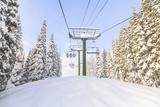 Crystal Mountain Ski Resort, Near Mt. Rainier, Wa, USA Reproduction photographique par Stuart Westmorland
