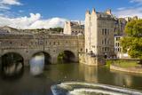 Pulteney Bridge over River Avon, Bath, Somerset, England Photographic Print by Brian Jannsen