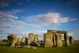 Sunset over Stonehenge, Wiltshire, England Photographic Print by Brian Jannsen