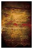 Rust Line Abstract II Poster von Jean-François Dupuis