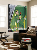 Grand Listrac Express Poster by Jean Pierre Got