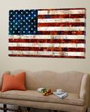 Det amerikanske flagget Posters av Stella Bradley