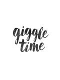 Giggle Time Láminas por Brett Wilson