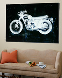 Moto White Posters by JB Hall