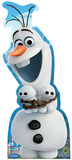 Olaf Hugging Snowgies - Frozen Fever Lifesize Standup Cardboard Cutouts