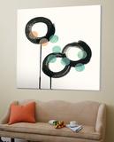 Zen Circles D Kunstdruck von Natasha Marie
