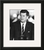John F. Kennedy J.F.K. (Speaking) Photo Print Poster Framed Photographic Print