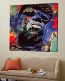 The Notorious BIG Poster par Micha Baker