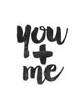 You + Me Stampe di Brett Wilson