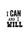 I Can And I Will Láminas por Brett Wilson