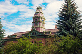 Courthouse in Aspen Reproduction photographique par  benkrut